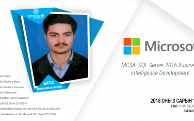 MCSA: SQL Server 2016 Business Intelligence Development